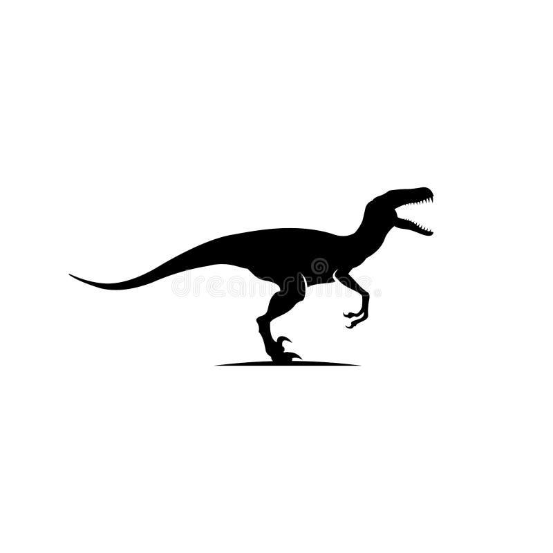 猛禽商标设计启发,恐龙商标设计 向量例证