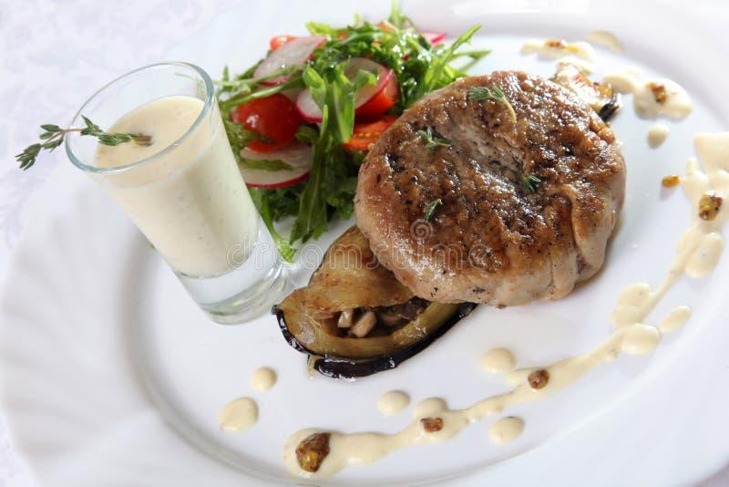Download 猪肉牛排用调味汁 库存图片. 图片 包括有 特写镜头, 油炸物, 饮料, 烹调, 剪切, 降低, 正餐, 美食 - 72361879