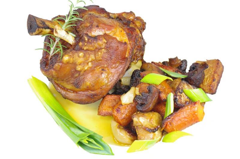 猪肉的开胃指关节 图库摄影