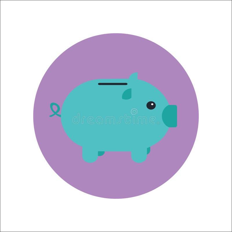 猪象传染媒介 库存例证