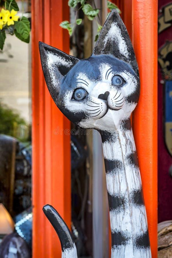 猫小装饰品 图库摄影