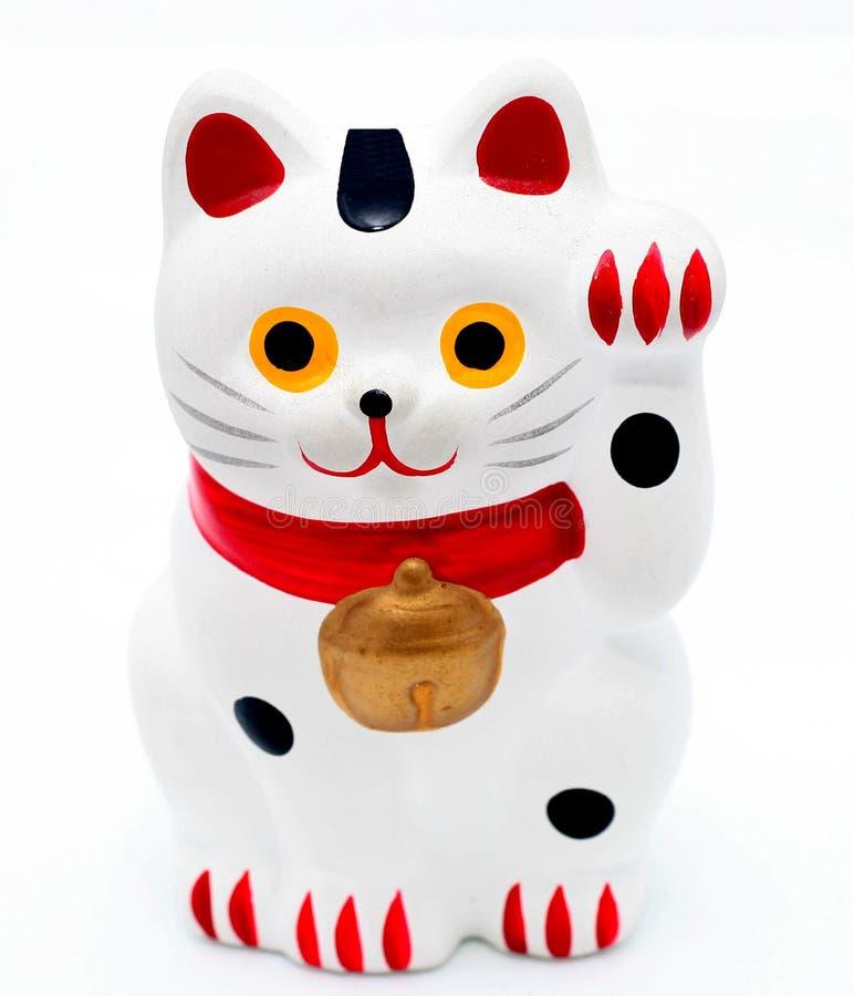 猫日语 库存照片