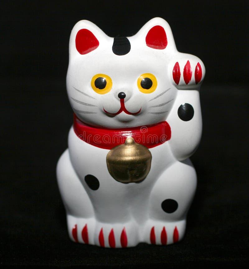 猫日语 库存图片