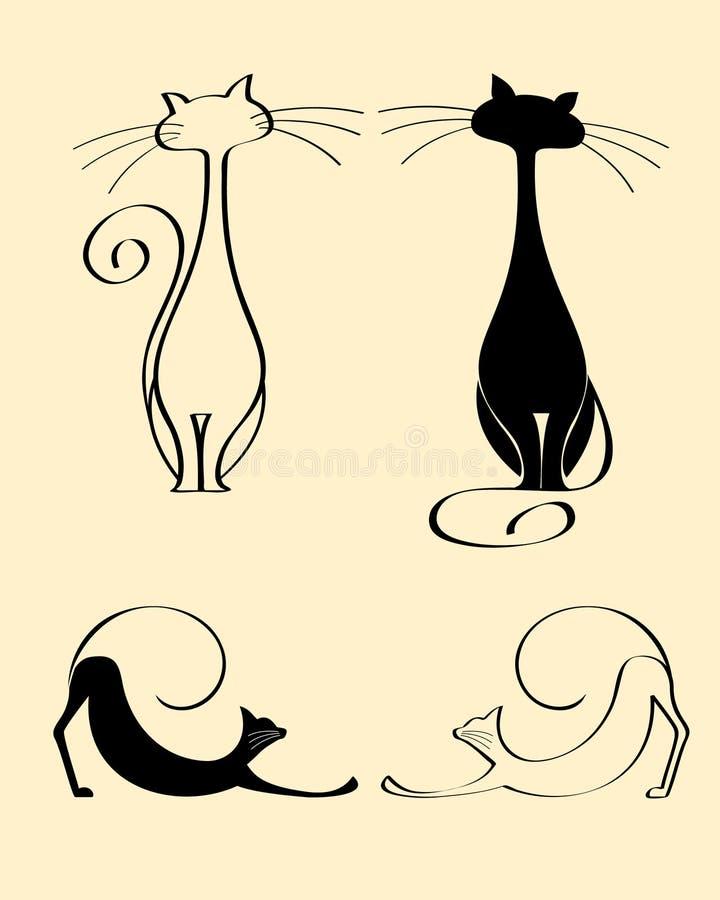 猫查找图象查找更多我的投资组合 向量例证