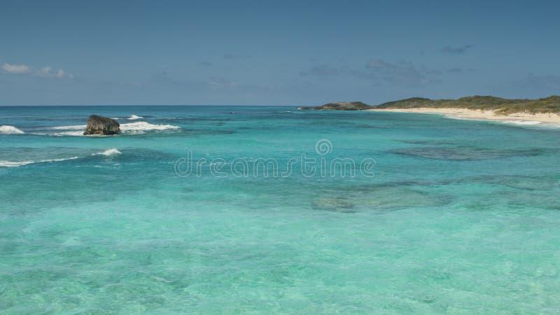 猫海岛海岸线 免版税图库摄影