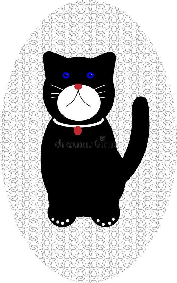 猫设计 皇族释放例证