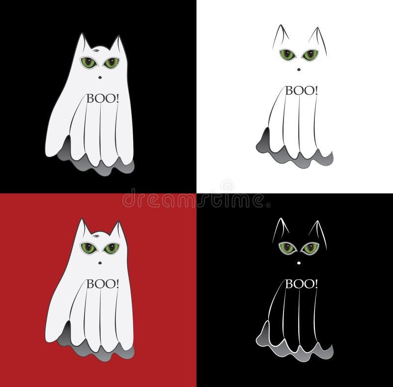 猫鬼魂 图库摄影