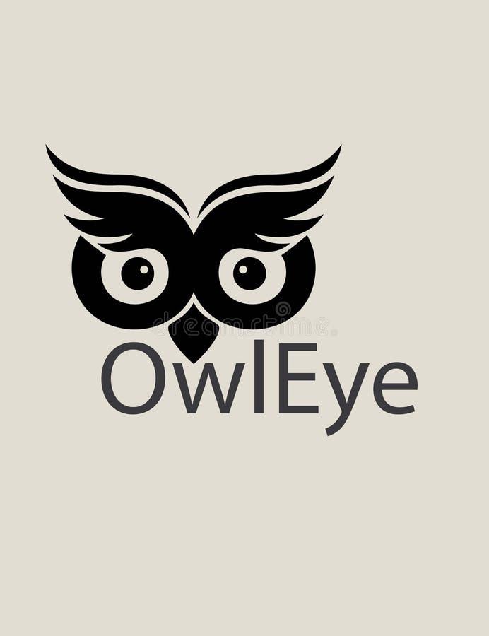 Download 猫头鹰眼睛商标 向量例证. 插画 包括有 减速火箭, brandywine, 双翼飞机, 猫头鹰, 打印 - 59101761