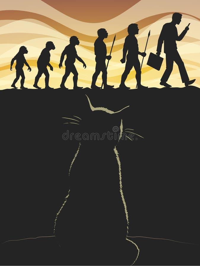 猫 皇族释放例证