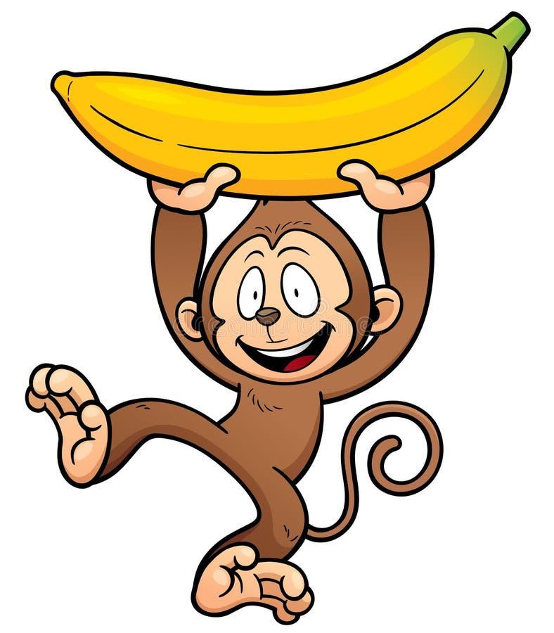download 猴子 向量例证.