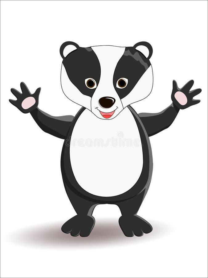 獾 免版税库存图片