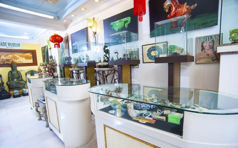 玉博物馆-吉隆坡 免版税图库摄影