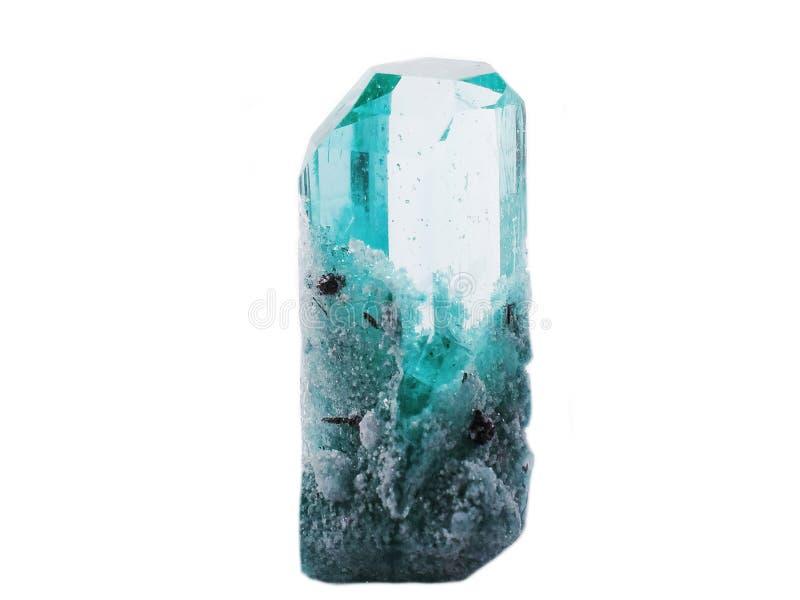 黄玉宝石地质水晶 库存图片