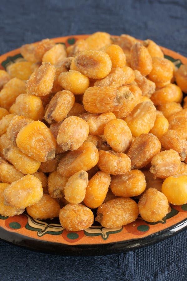 玉米坚果 免版税库存照片