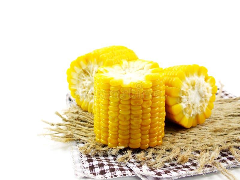 玉米新鲜的甜点 免版税图库摄影