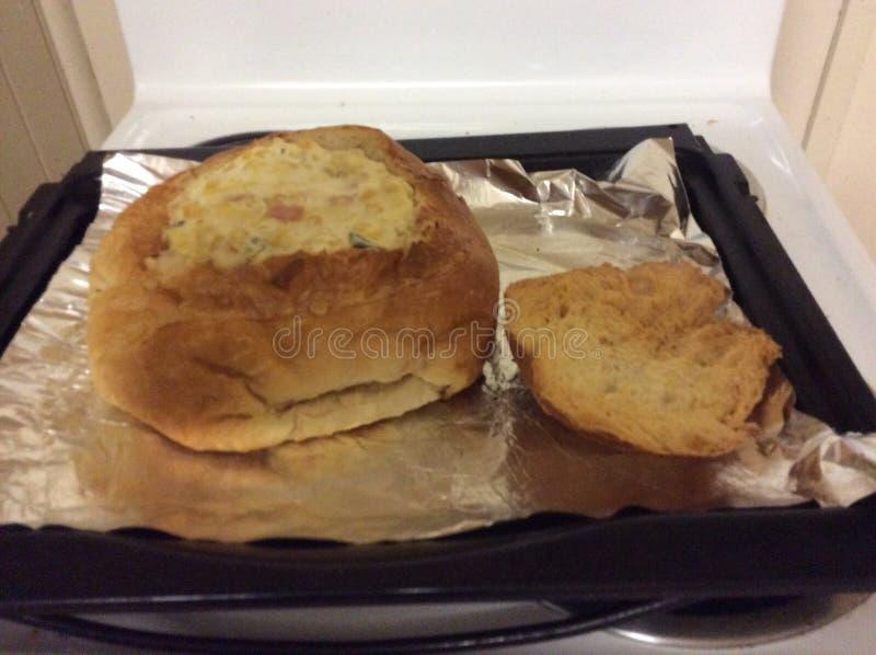 玉米棒大面包垂度 免版税库存图片