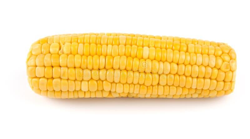 玉米棒新鲜煮熟的玉米 免版税库存图片