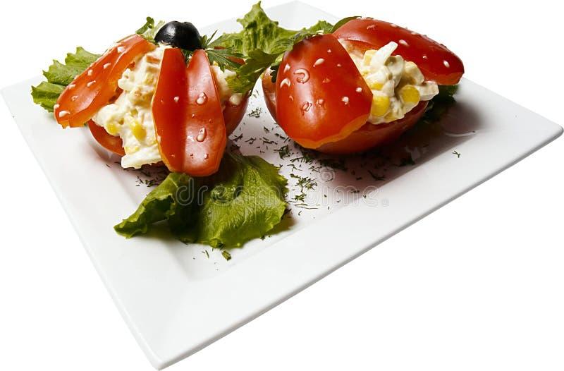 玉米胡椒 免版税库存图片