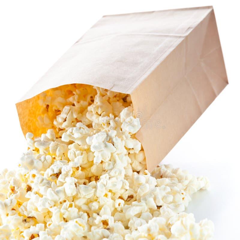 玉米花袋子 免版税库存图片