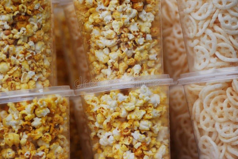 玉米花 库存照片