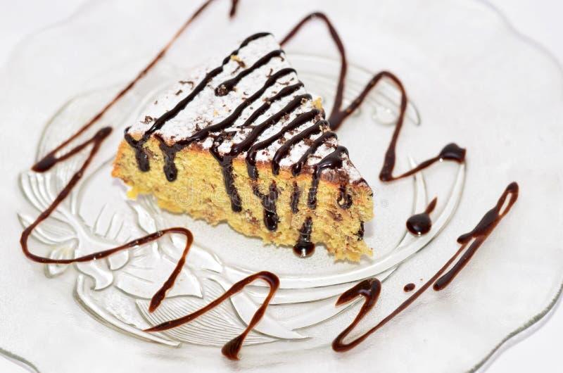 玉米蛋糕片断  图库摄影
