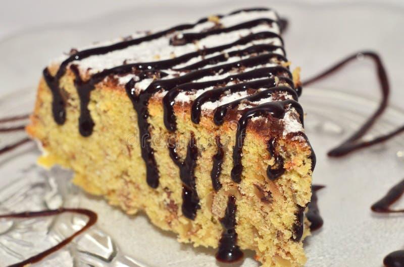 玉米蛋糕片断  库存照片