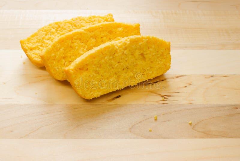 玉米面面包 免版税库存照片
