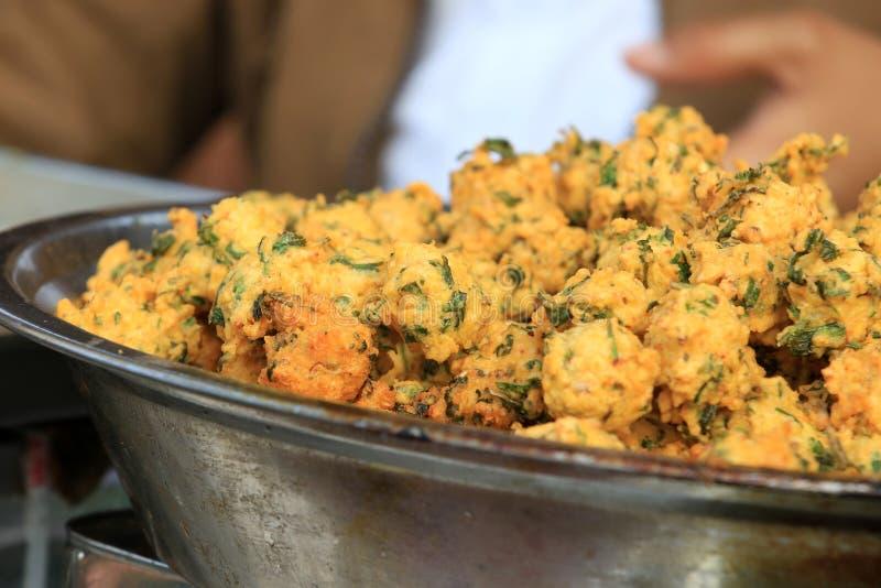 玉米食物印地安人街道 免版税图库摄影