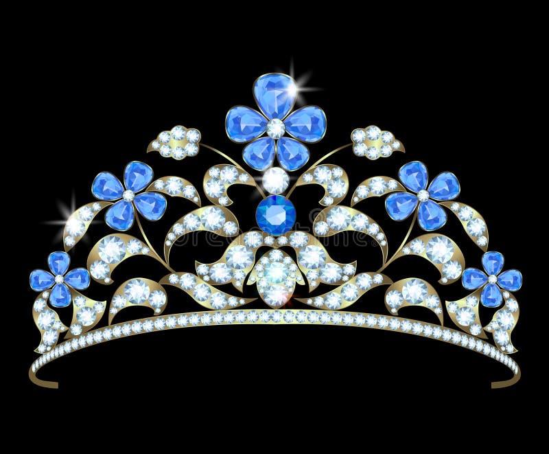 王冠 向量例证