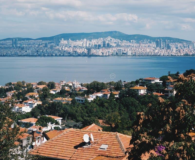 王子海岛在马尔马拉海,土耳其 库存照片