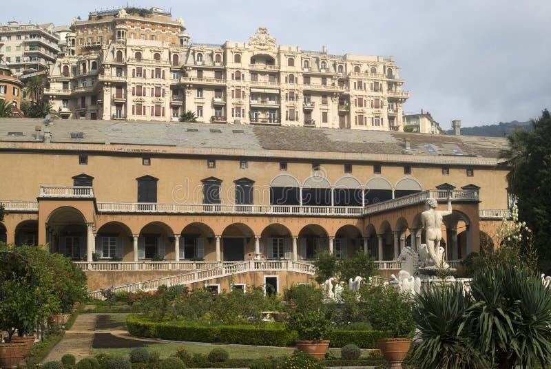 王子热那亚的别墅 库存图片