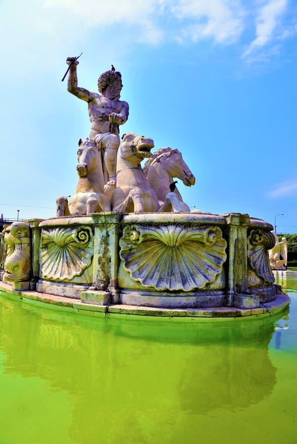 王子的别墅,热那亚,意大利 免版税库存照片