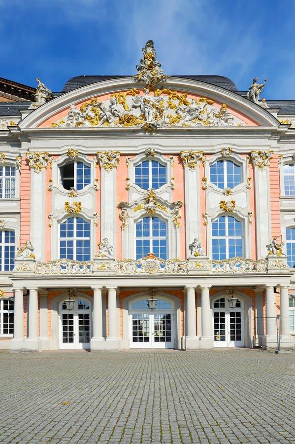 王子选举人宫殿南翼实验者的,德国 图库摄影