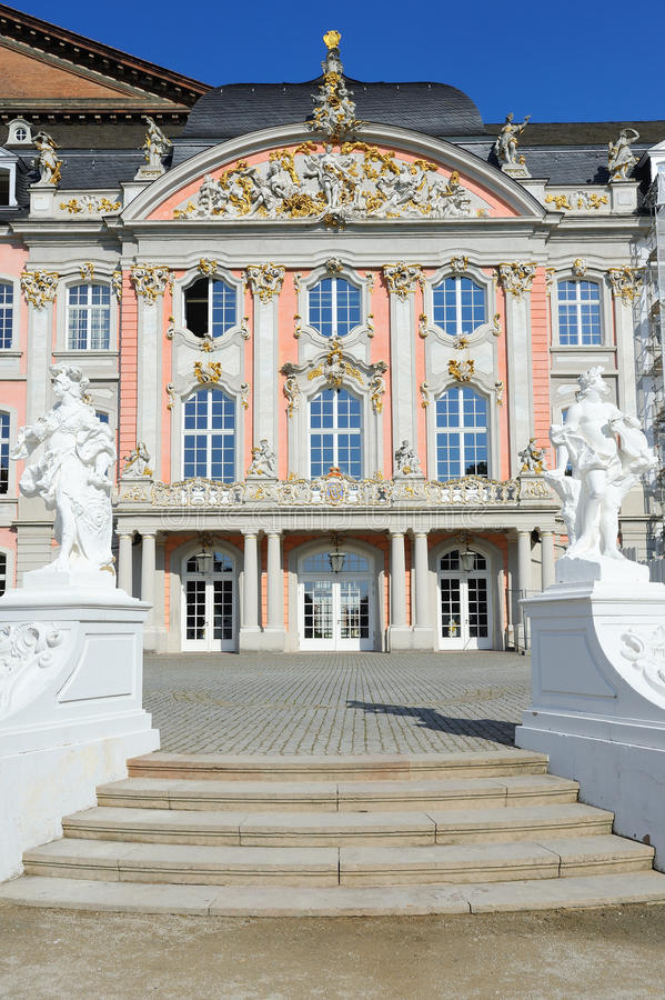 王子选举人宫殿南翼实验者的,德国 免版税图库摄影