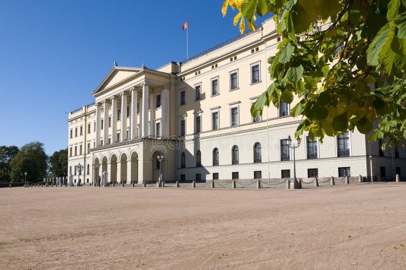 王宫,奥斯陆 免版税库存图片