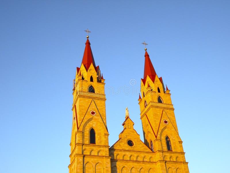 玛丽亚Fatimskaya教堂 免版税库存图片