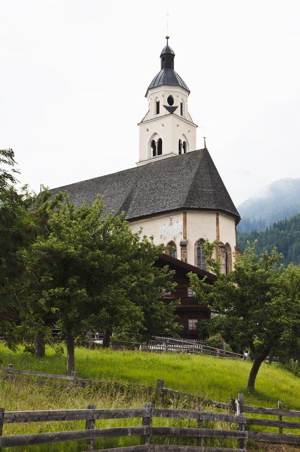 玛丽亚Schnee朝圣教会在Virgen, Obermauern 库存图片