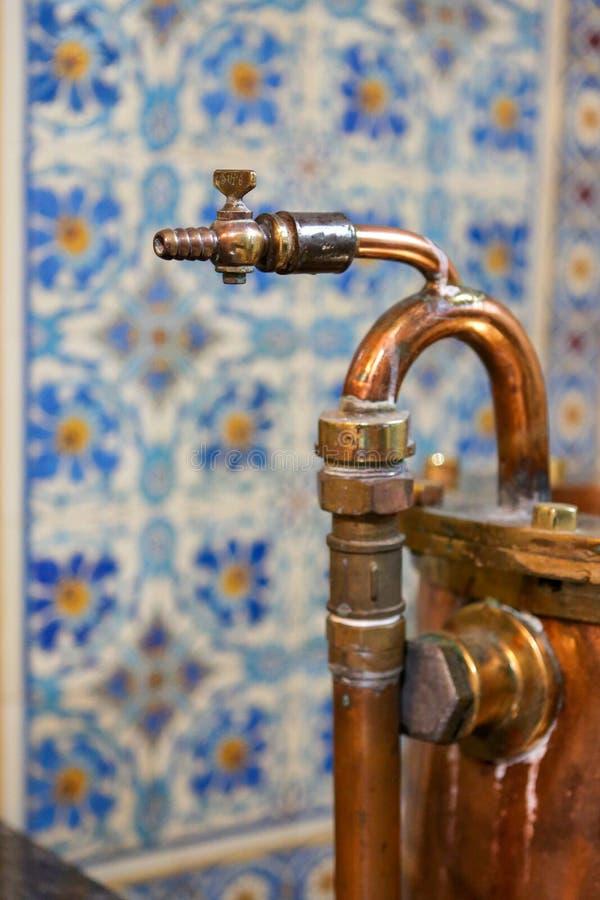 玛丽恩巴德或玛丽安斯克拉兹内Spa酒店的浴室 库存图片