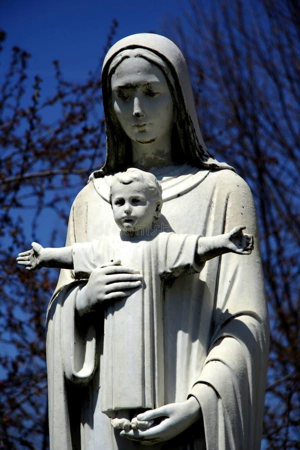 玛丽母亲 图库摄影