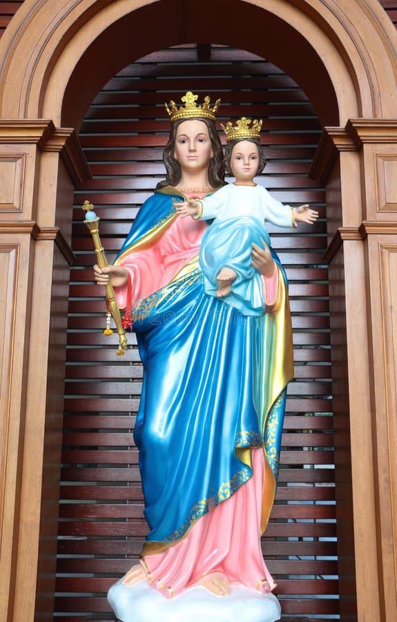 玛丽,上帝的母亲 库存照片