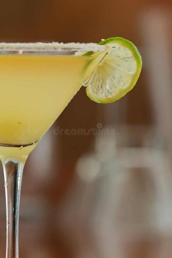 玛格丽塔马蒂尼鸡尾酒 库存图片