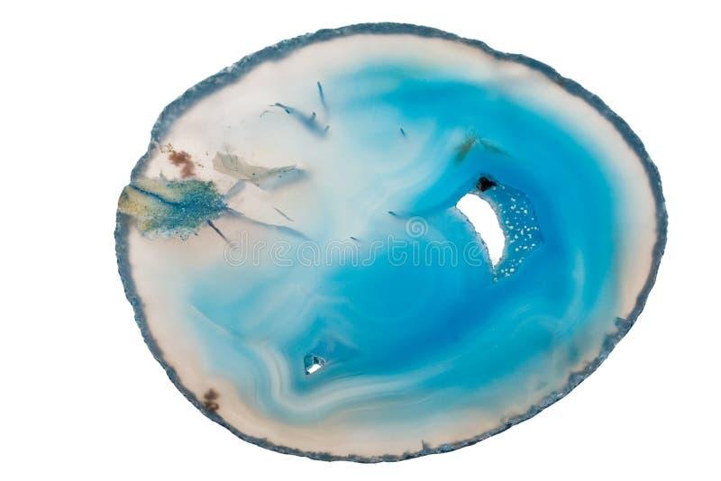 玛瑙石头 免版税库存照片
