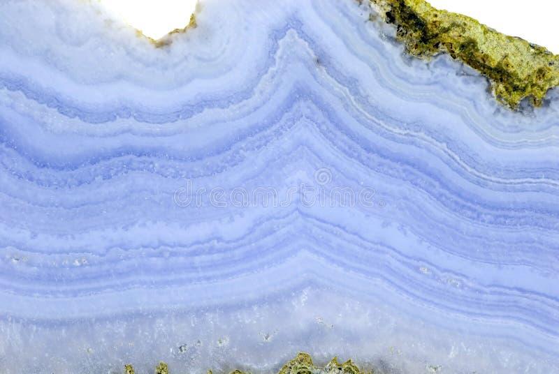 玛瑙蓝色 库存照片