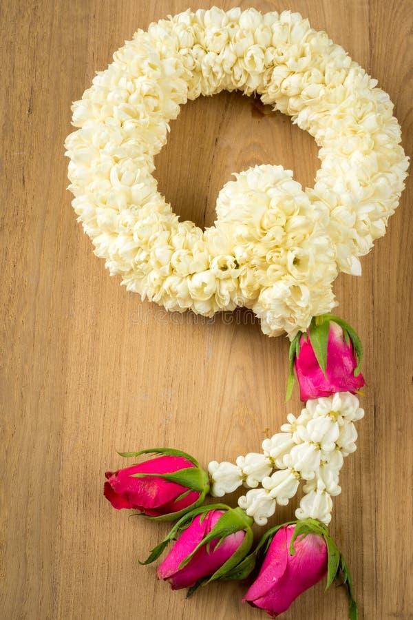 玛莱;泰国传统茉莉花诗歌选 免版税库存照片