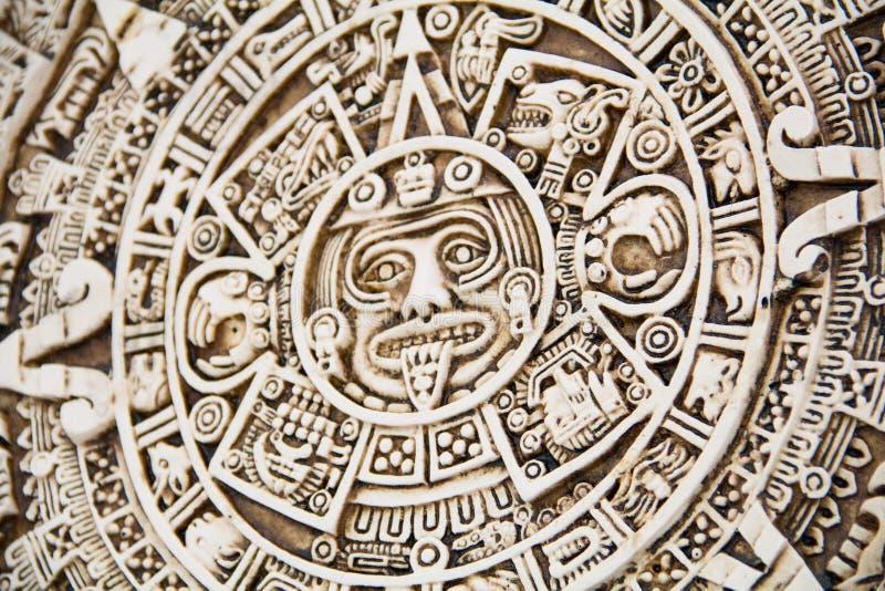 玛雅人太阳 库存照片