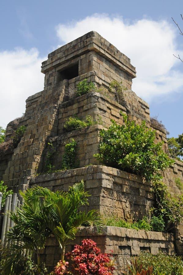 玛雅人废墟 库存图片