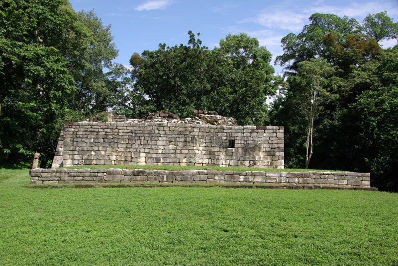 玛雅废墟在危地马拉 免版税图库摄影