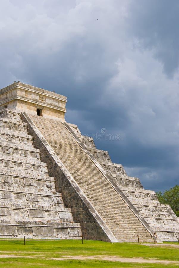 玛雅步骤 免版税库存图片