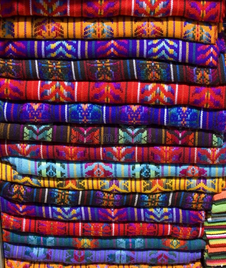 玛雅3条的毯子 库存图片