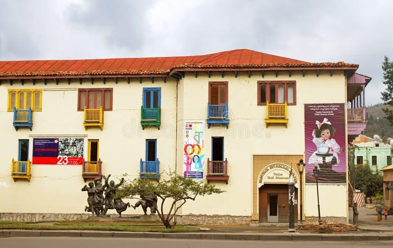 玩偶博物馆在第比利斯,乔治亚 库存照片